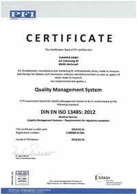 Quality Management System 13485