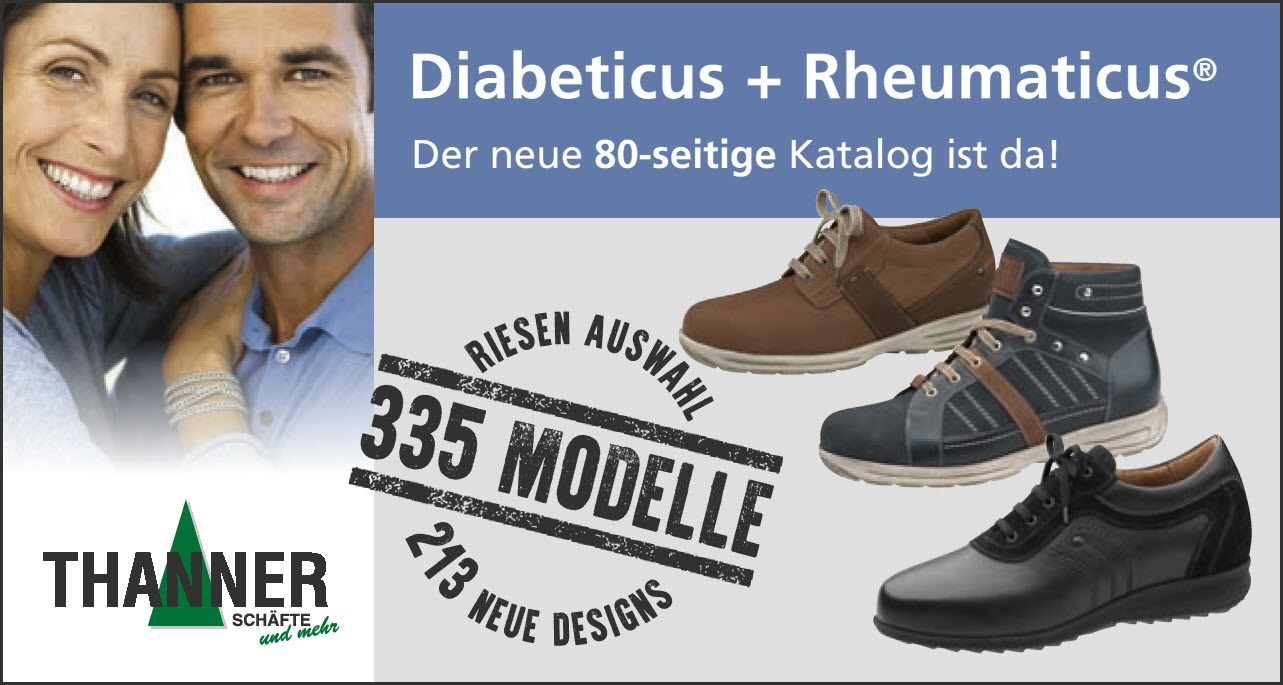 The new generation of special footwear for diabetics!