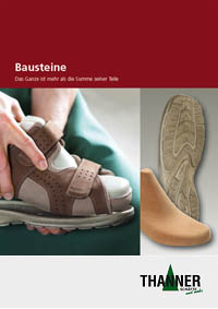 Components for custom-made orthopaedic footwear
