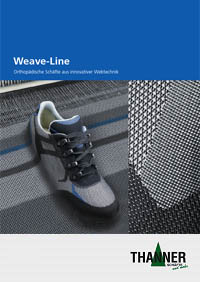 Orthopedic uppers from innovative weaving technology